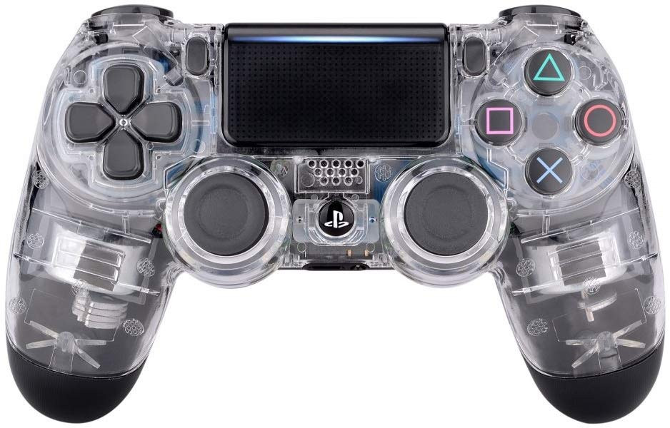 transparent front ps4 controller shell