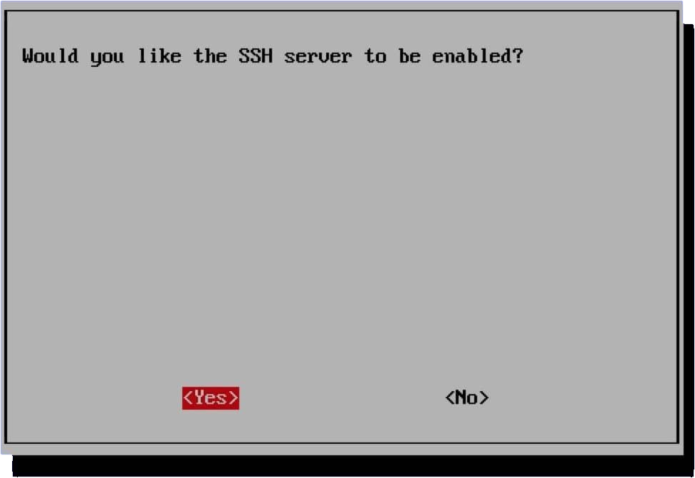 would you like to enable ssh in retropie